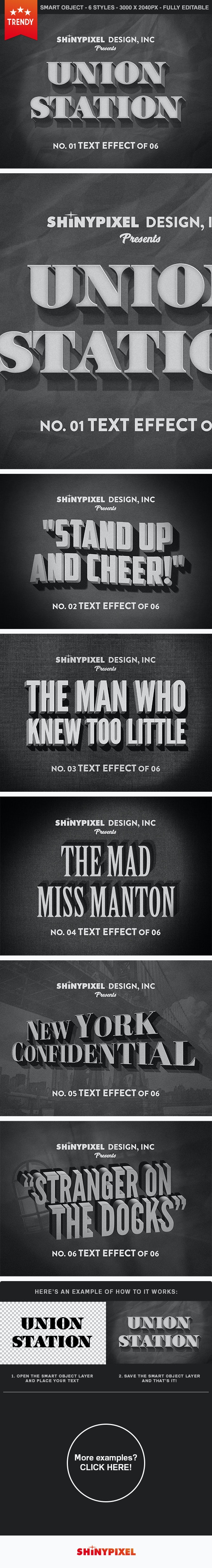 Old Movie Title - Text Effect - Text Effects Actions