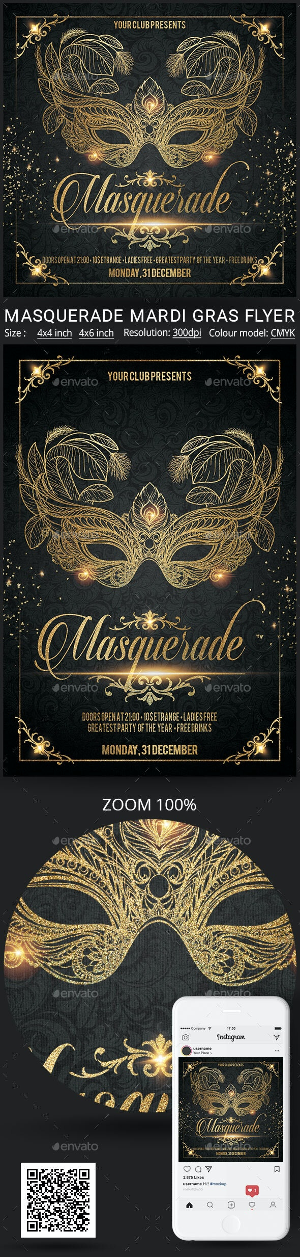 Masquerade - Clubs & Parties Events