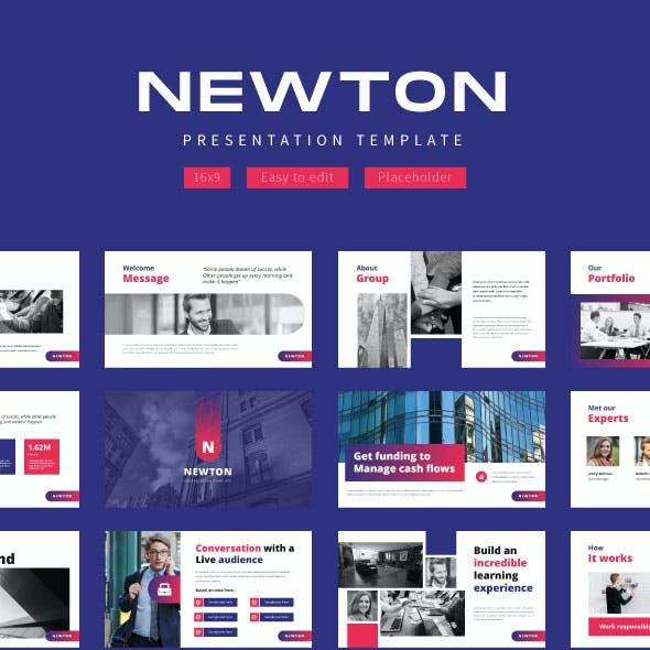 Newton Creative Business -  Google Slide