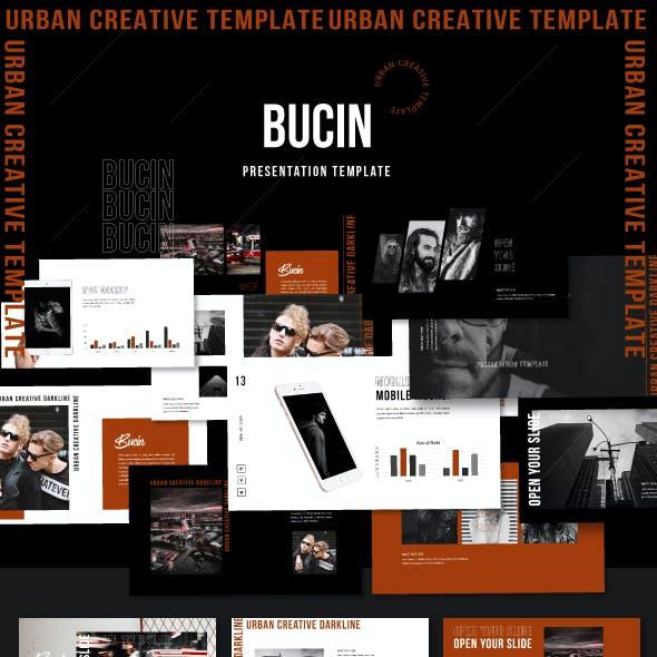 Bucin - Creative Presentation Template