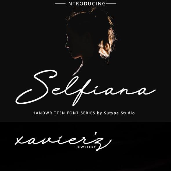 Selfiana Luxury Signature Font