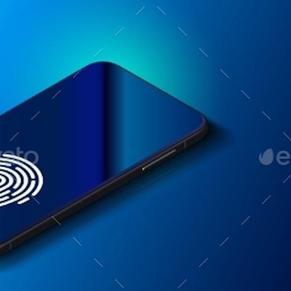 Fingerprint Scanner on Phone Screen