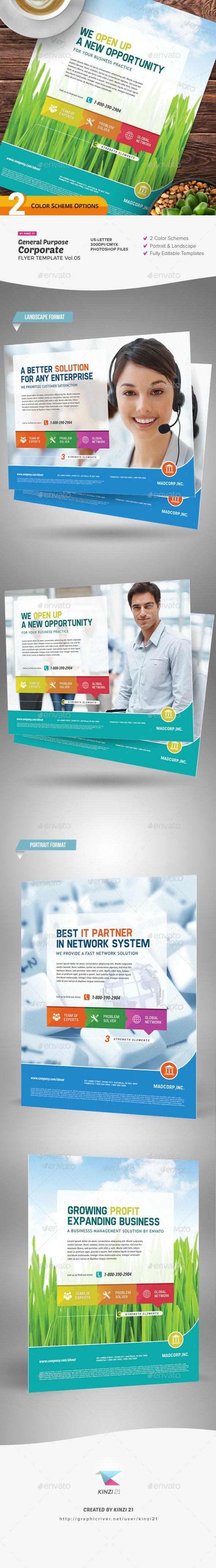 General Purpose Corporate Flyer Vol. 05 - Corporate Flyers