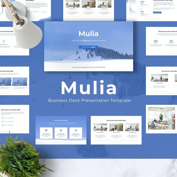 Mulia Google Slides Template