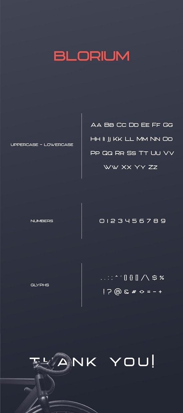 Blorium - Sans-Serif Fonts