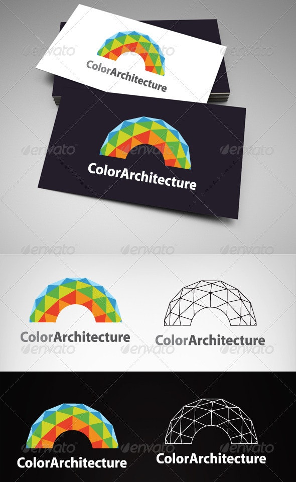 Color Architecture  - Buildings Logo Templates