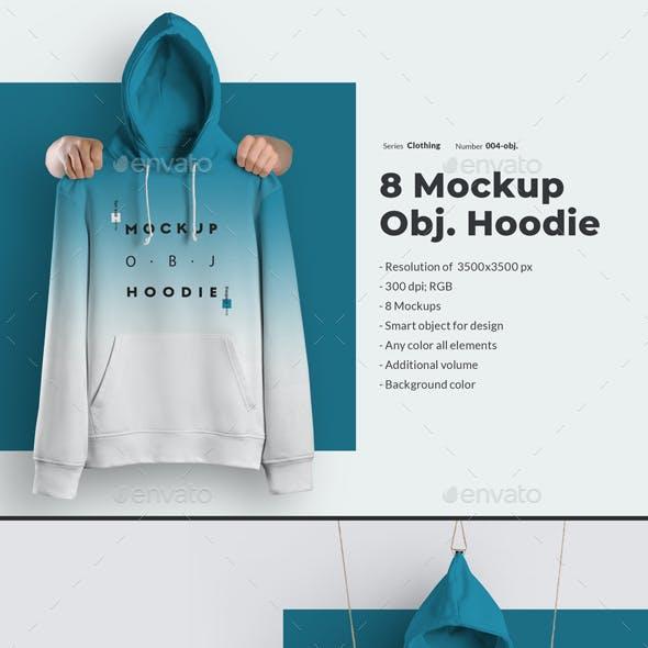 8 Mockups Hoodie