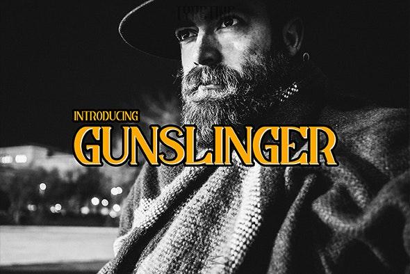 Gunslinger - Miscellaneous Serif