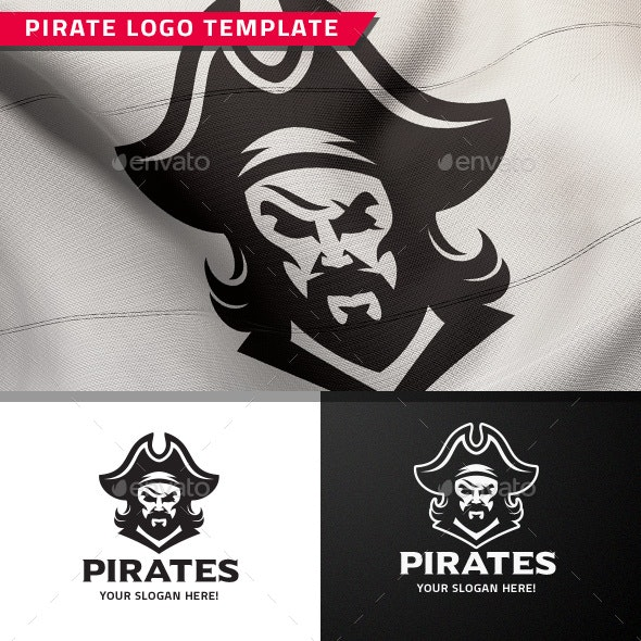 Pirate Logo - Humans Logo Templates