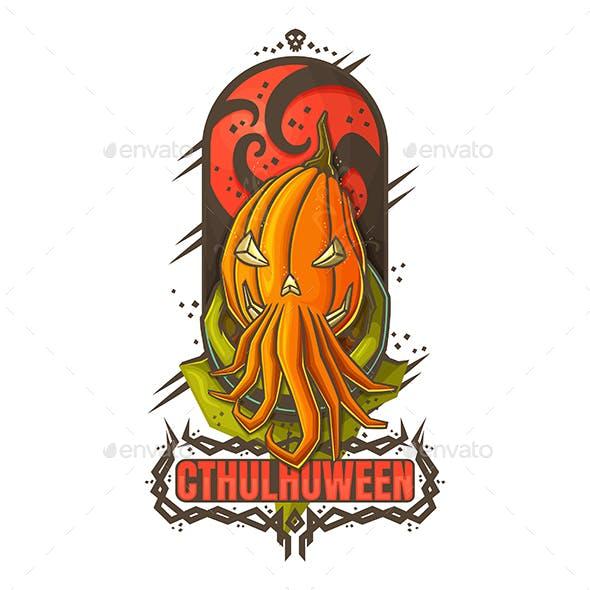 Halloween Cthulhuween for Print