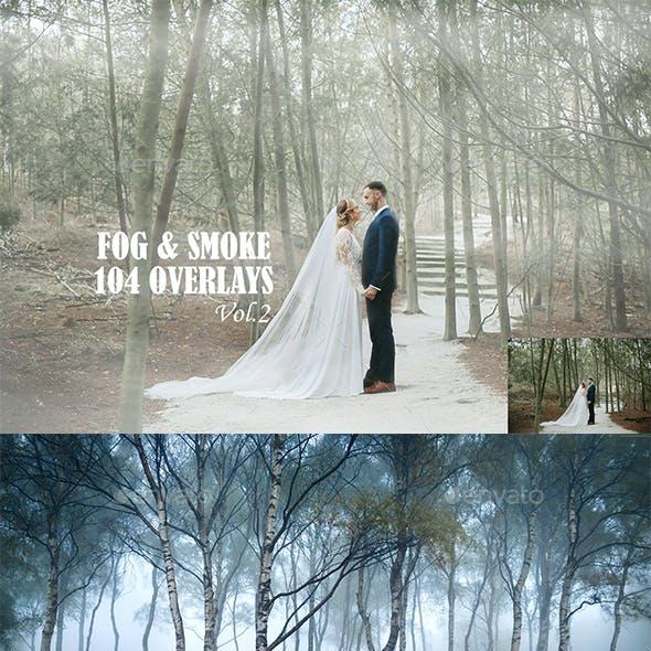 104 Fog and Smoke Overlays