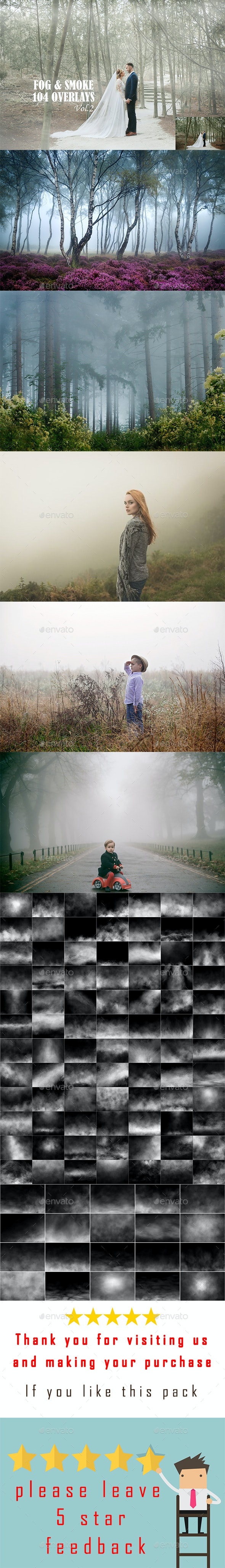 104 Fog and Smoke Overlays - Miscellaneous Backgrounds