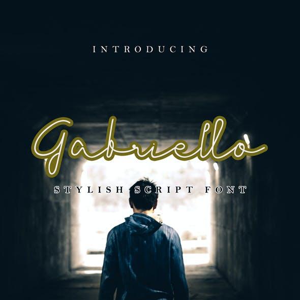 Gabriello - Handwritten Font