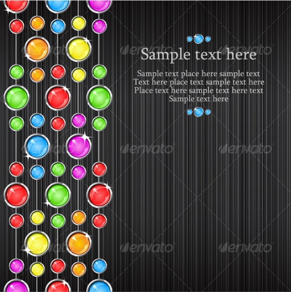 Vector abstract background - Backgrounds Decorative