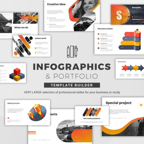 Infographics & Portfolio