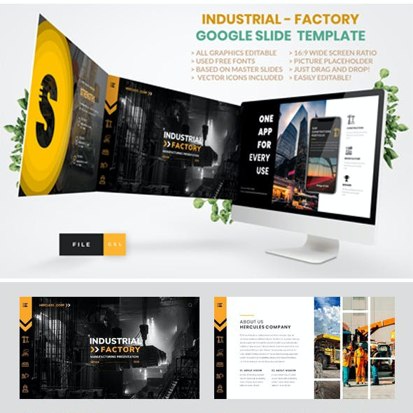 Industrial - Factory Google Slide Template