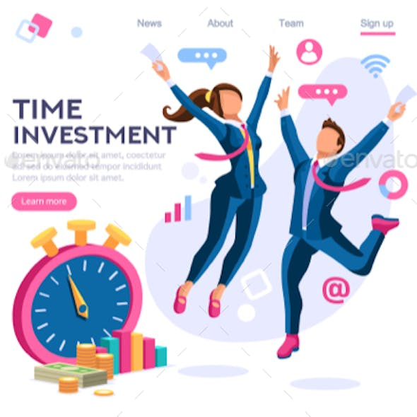 Save Time Business Concept