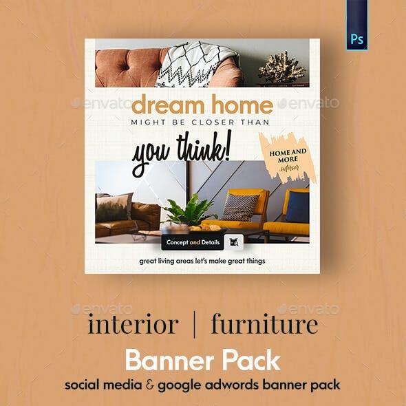 Interior - Furniture Banner Pack