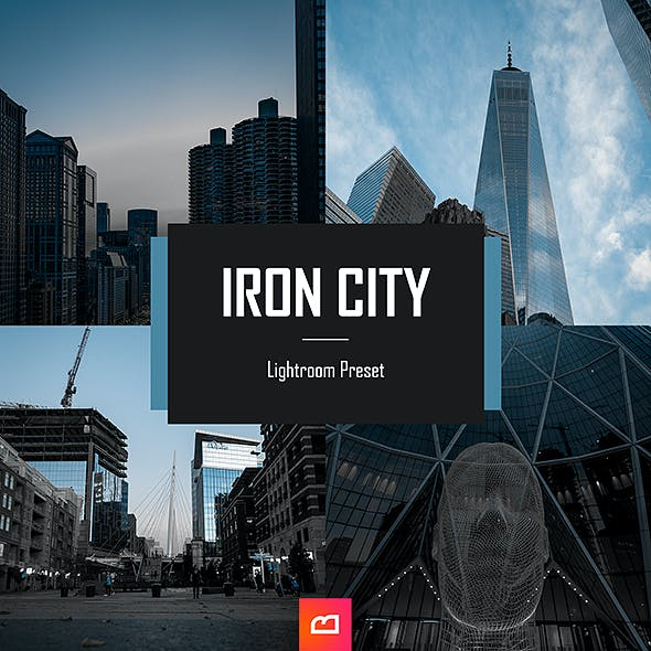 Architecture Collection - Iron City Lightroom Preset