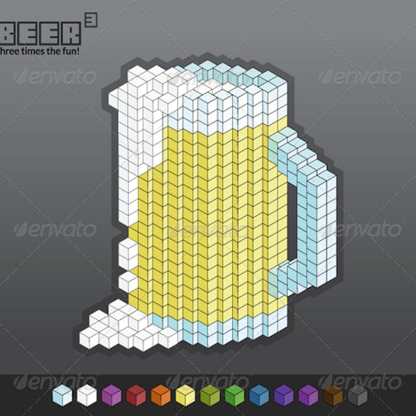 Beer Cubed (3) - Easily Customizable