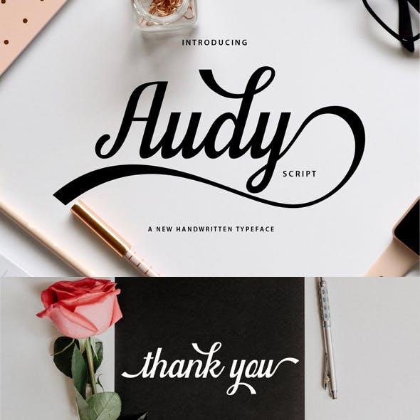 Audy Script