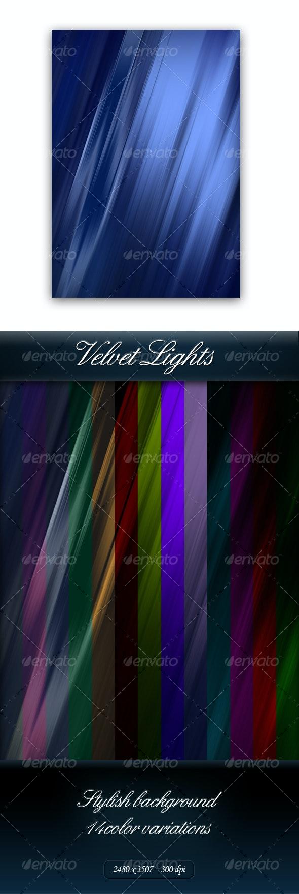 Velvet Lights - Backgrounds Graphics