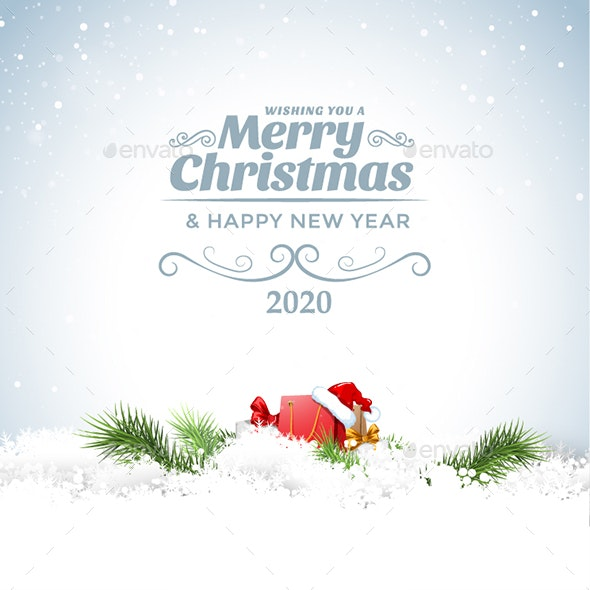 Christmas Cards 2020 Clean Christmas Card by Stephen_sheld | GraphicRiver