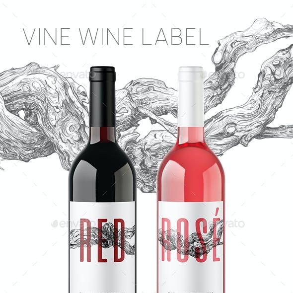 Vine Wine Labels