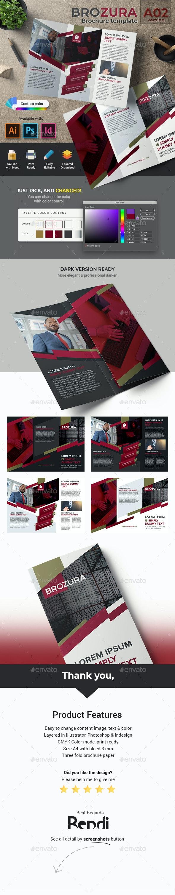 Brozura Serie A02 - Brochure Template - Corporate Brochures