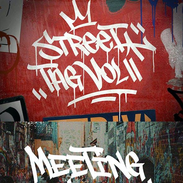 Graffiti Fonts | Street Tag Vol2