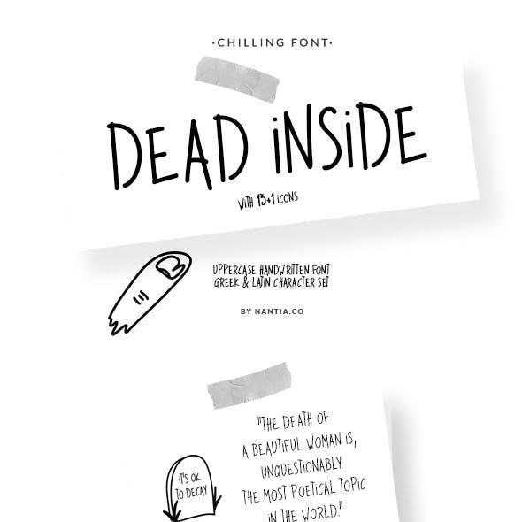Dead Inside Chilling Font