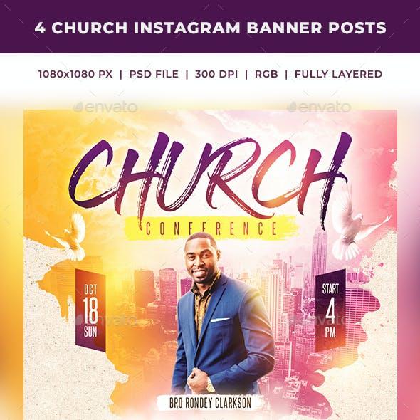 Church Instagram Banner Posts 2