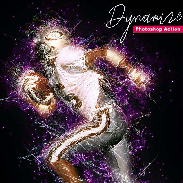 Dynamize Photoshop Action Vol 2