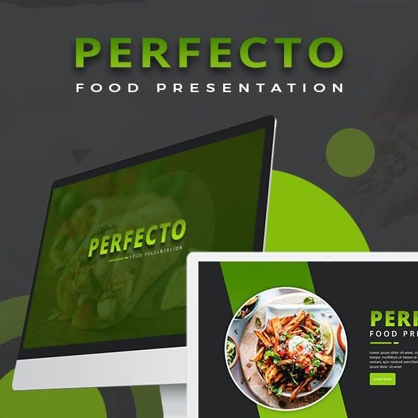 Perfecto Food Keynote Template
