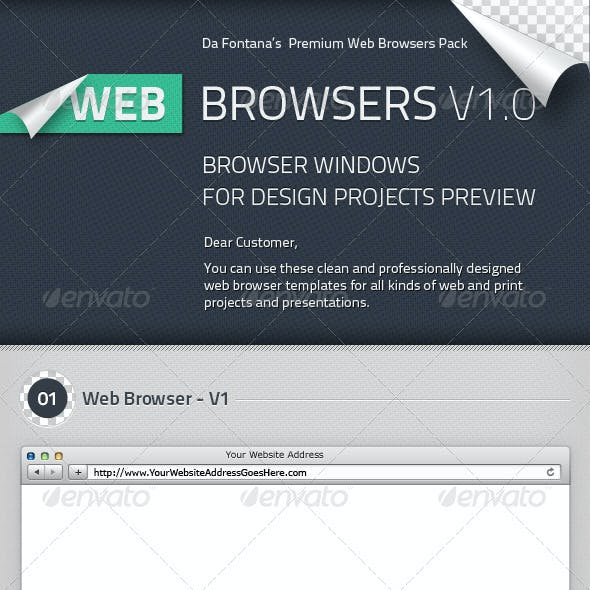 Web Browser Templates