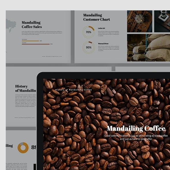Mandailing Coffee Keynote Template