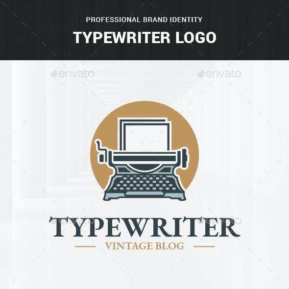 Typewriter Logo Template