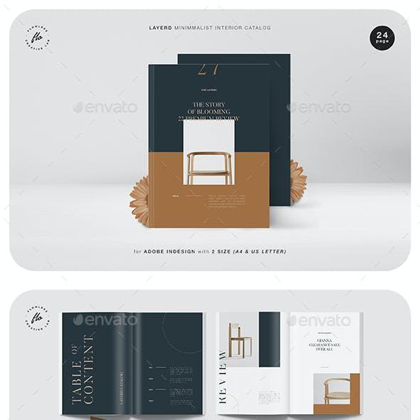 Layerd Minimalist Interior Catalog