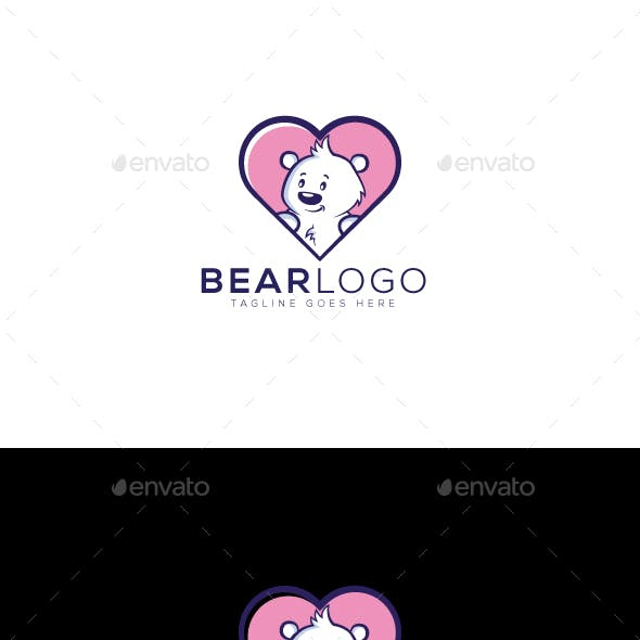 Heart Bear Logo