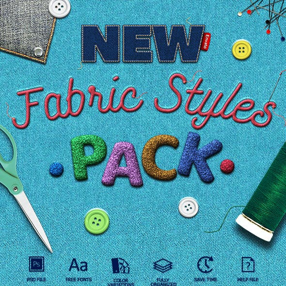 Fabric Text Effects V2
