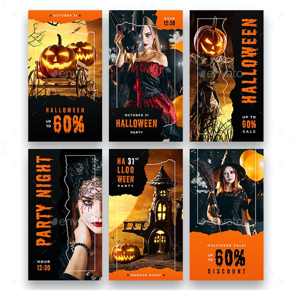 Halloween Party - Animated Instagram Stories