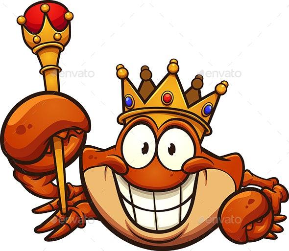 King Crab - Animals Characters