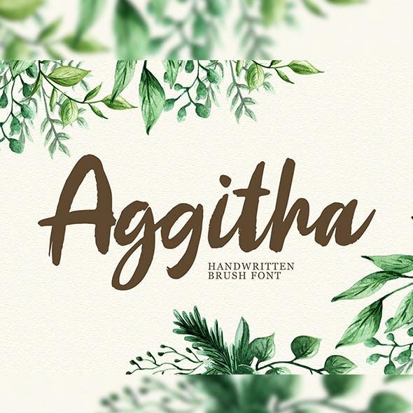 Aggitha Brush Script