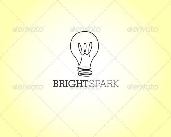 Bright Spark Logo - Symbols Logo Templates