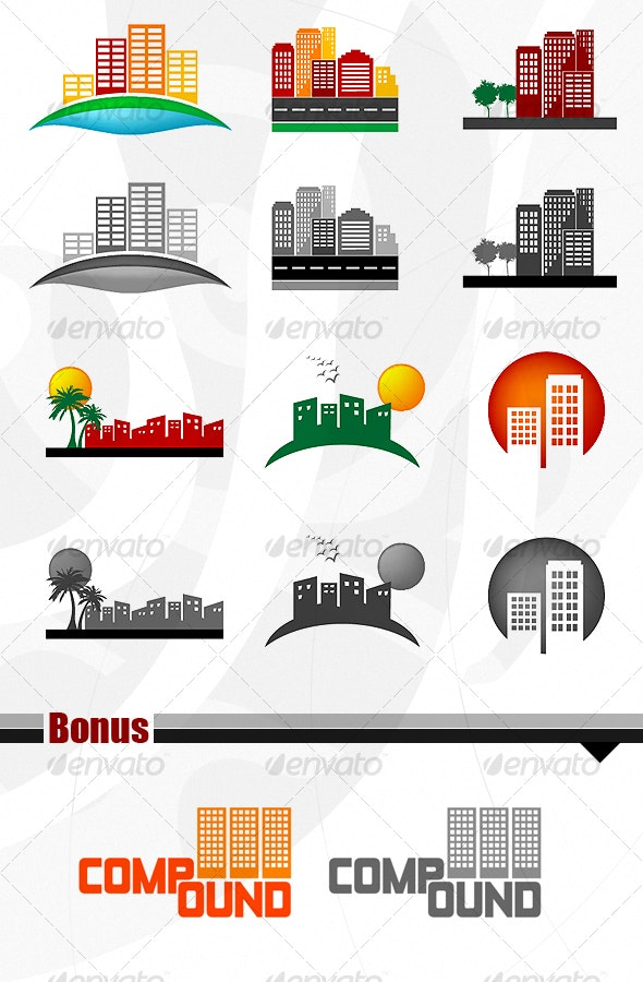 Construction building - Miscellaneous Vectors