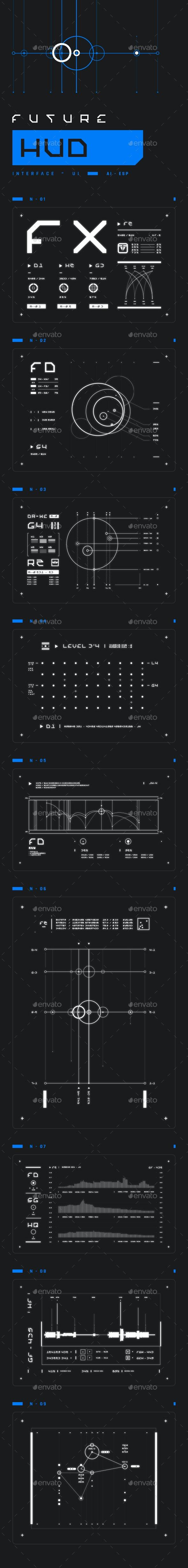 Future HUD - Miscellaneous Vectors