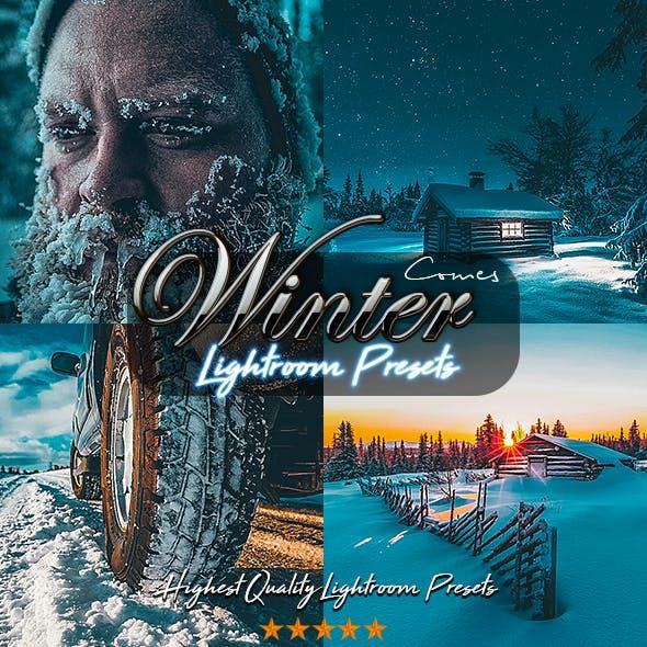 Winter Comes Lightroom Presets