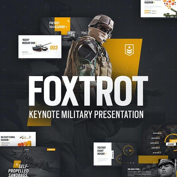 Foxtrot Military Keynote Presentation Template