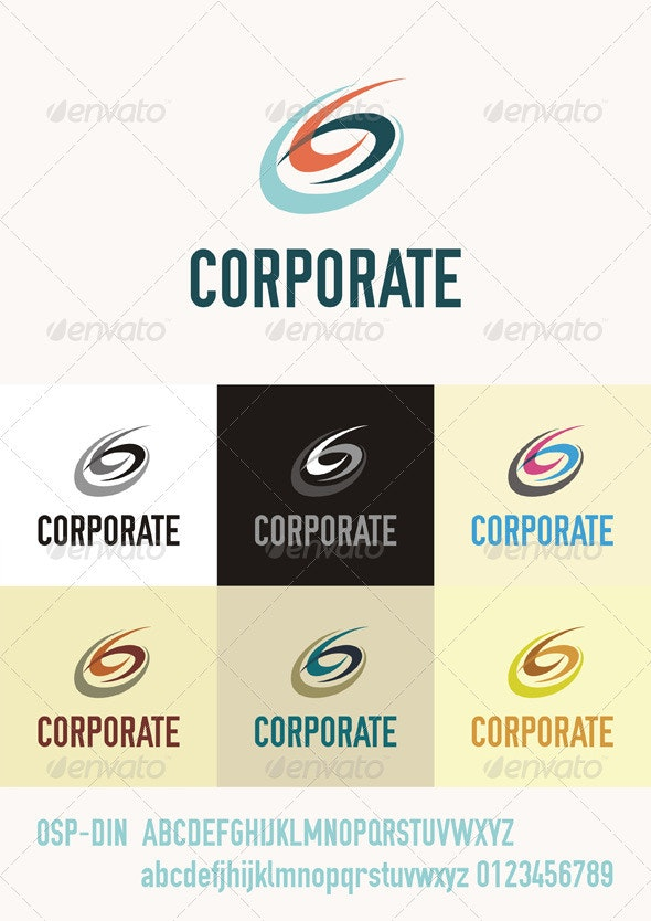 Corporate Logo - Abstract Logo Templates