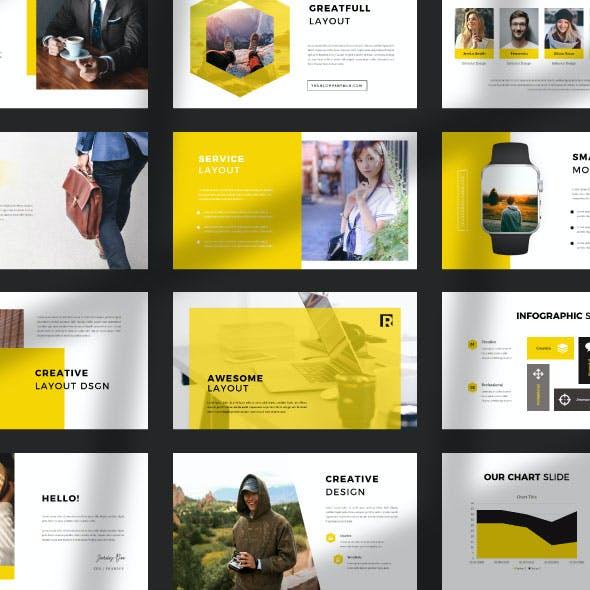 Report Creative Business - Keynote